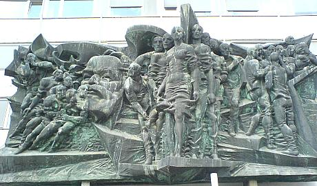 Karl-Marx-Relief in Leipzig