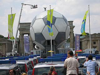 Der Ball am Brandenburger Tor, Photo: Gabriele Kantel