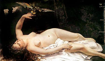 "Сликата ""http://www.schockwellenreiter.de/images/1866_Gustave_Courbet_-_Woman_with_a_Parrot.jpg"" не може да се прикаже бидејќи содржи грешки."