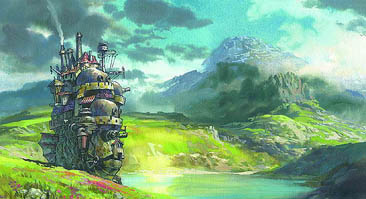 Howls Moving Castle Screenshot