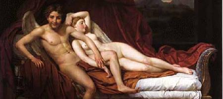 Jacques-Louis David: Amor und Psyche