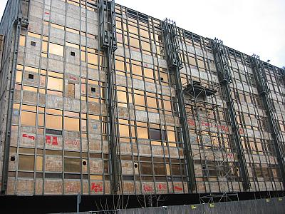 Palast der Republik, Photo: Gabriele Kantel, 28. Januar 2003