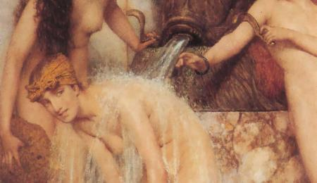 Strigils and Sponges, Gemälde von Lawrence Alma-Tadema