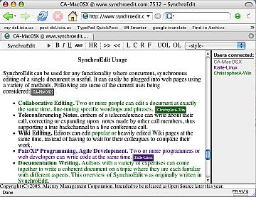 SynchroEdit Screenshot