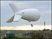 Blimp als Antenne