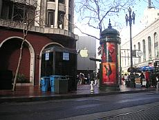 iPod-Werbung in San Francisco, Photo: Turhan Gezer