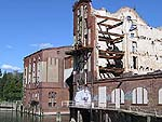 Industrie-Ruine, Photo: Gabriele Kantel, 17.09.2005
