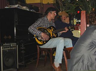 Blues-Jam-Session im Sandmann