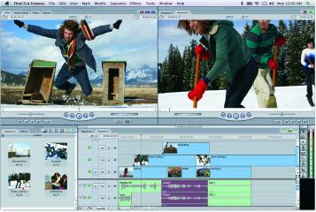 Screenshot Final Cut Express 4
