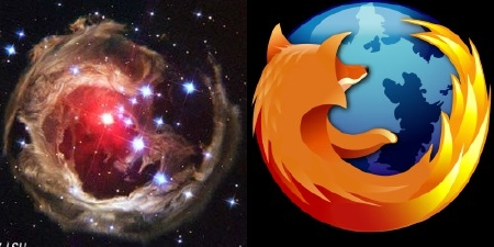 A picture named firefox_weltraum.jpg