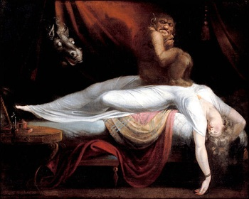 Henry Fuseli: The Nightmare, 1782