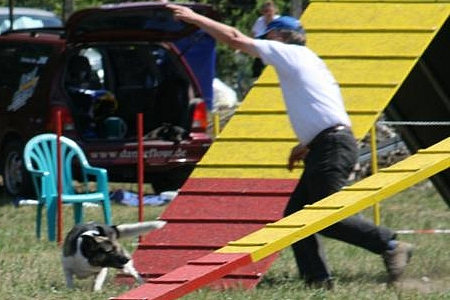 Agility-Turnier in Mellensee, 20.05.2007
