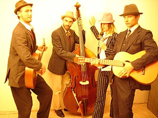 The Haferflocken Swingers als Quartett