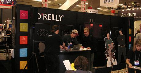 O'Reilly auf der MacWorld Expo, Photo: Turhan Gezer