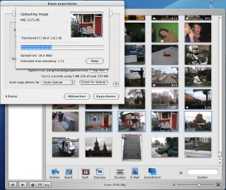 Screenshot Picasa-Uploader