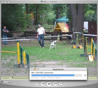 Screenshot QuickTime nach Ogg-Theora