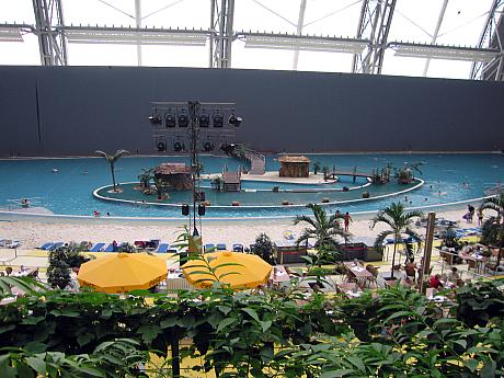 Tropical Islands, Photo: Gabriele Kantel, 06.03.2006