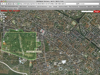 Screenshot WikiMapia